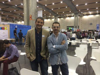 Con Javier Echaleku (@echaleku)