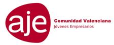 Logo AJE Comunidad Valenciana en diegotomas.es