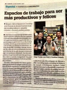Nace el Club de Espacios de Coworking de la Provincia de Alicante