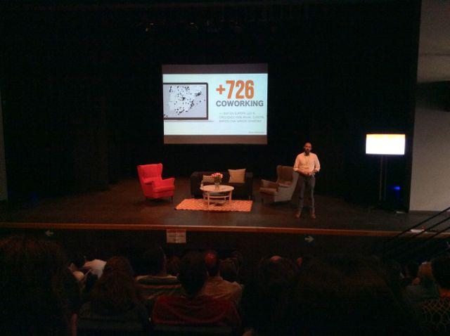 Javier Megías - Coworking Spain Conference - Foto de Diego Tomás
