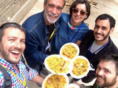 Co-paella en la Coworking Spain Conference - Foto de Diego Tomás