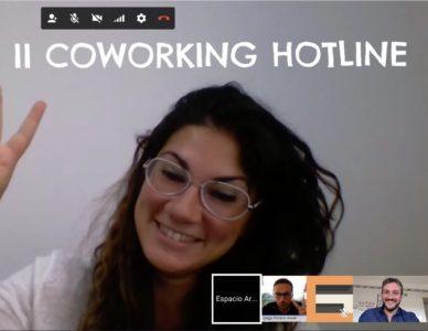 Segundo encuentro online gestores coworking