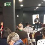 En la Coworking Spain Conference 2014 - Madrid - Diego Tomás