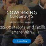 Coworking Europe 2015 - diegotomas.es