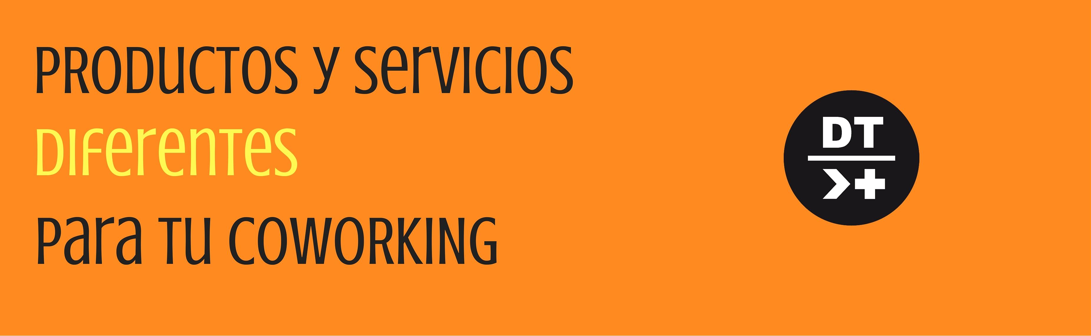 Productos y servicios para tu coworking
